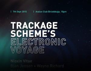 electronic voyage - music malta - Trackage Scheme - Alternative Artist Malta