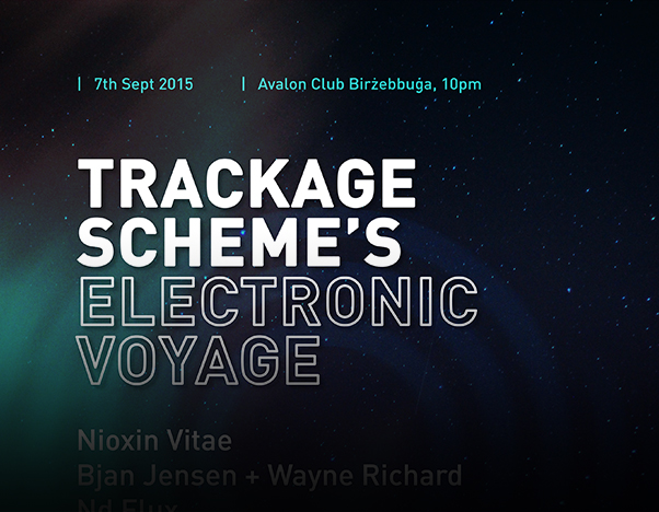 electronic voyage - music malta - Trackage Scheme - Alternative Artist Malta