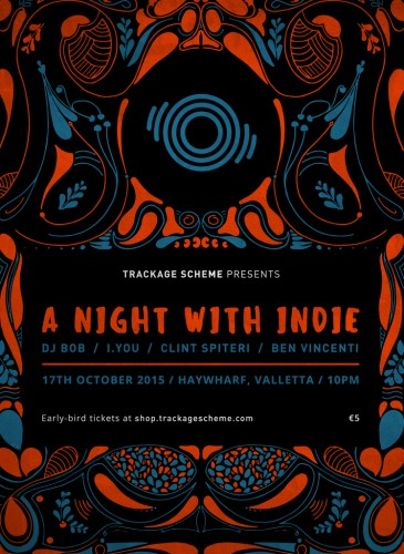 a night with indie event malta
