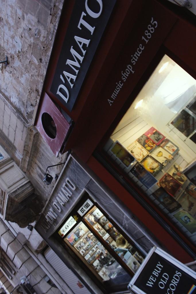 D'Amato Records Oldest Record Store in the world Malta