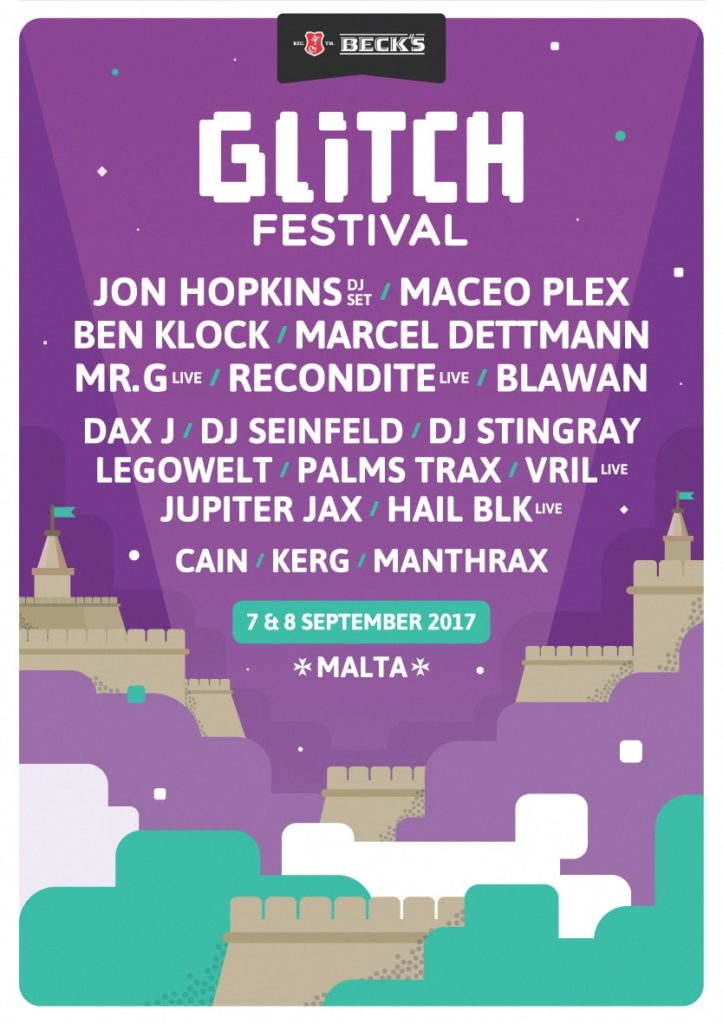 glitch electronic music festival malta 2017