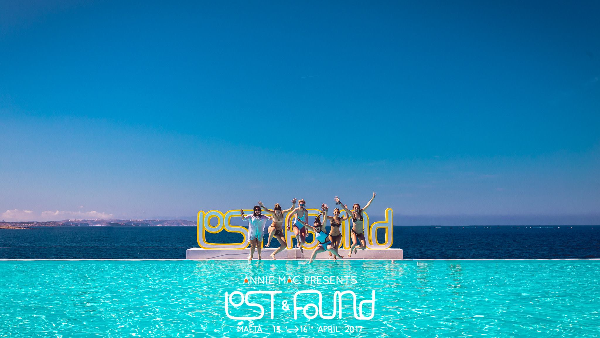 lost and found festival 2017 malta cafe del mar first day