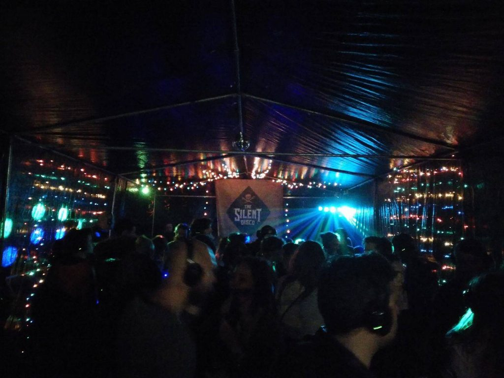 silent disco rock the south 2017