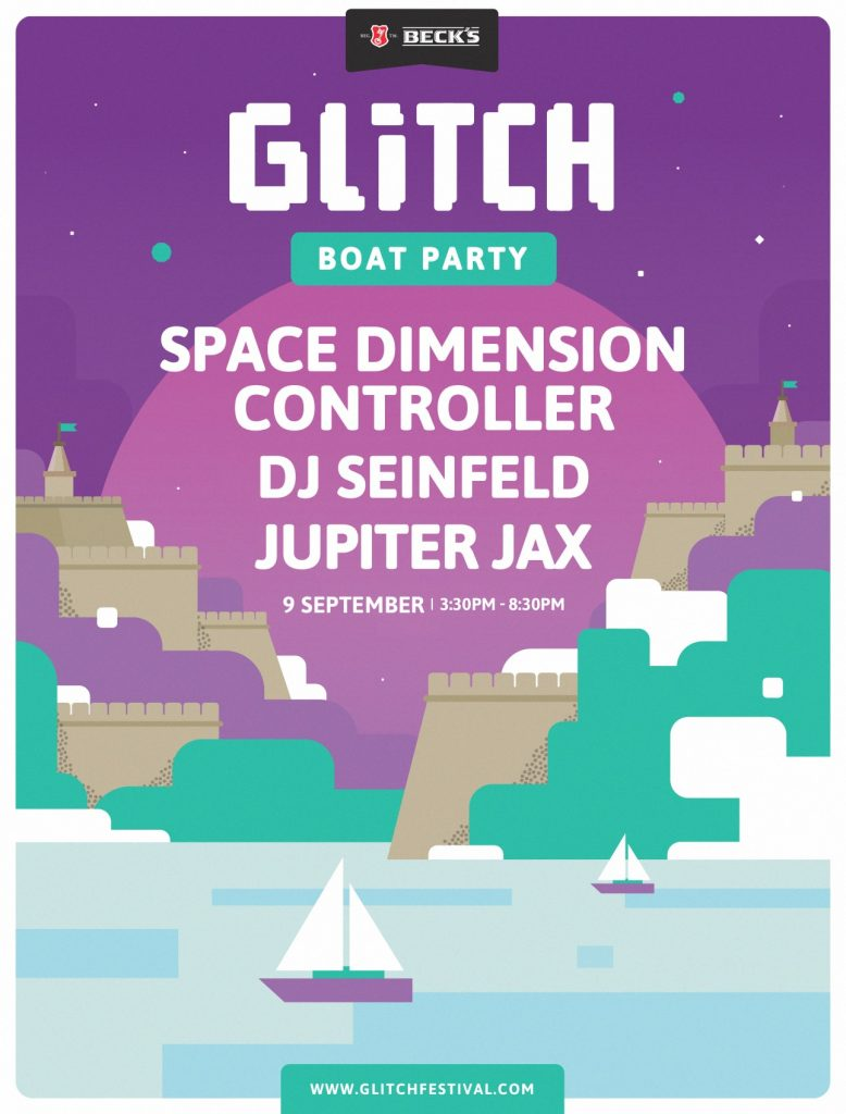 Glitch Festival announce boat party line-up