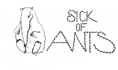 sick of ants stickers