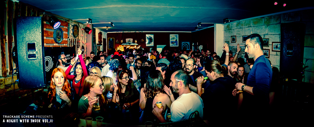 A night with indie party event malta