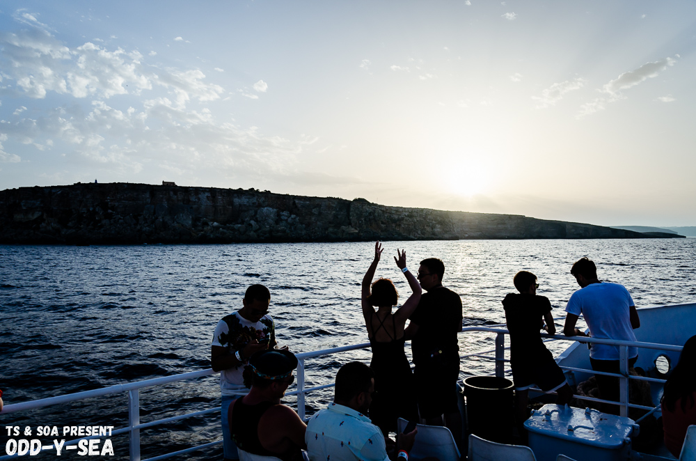 Odd-y-sea boat party malta