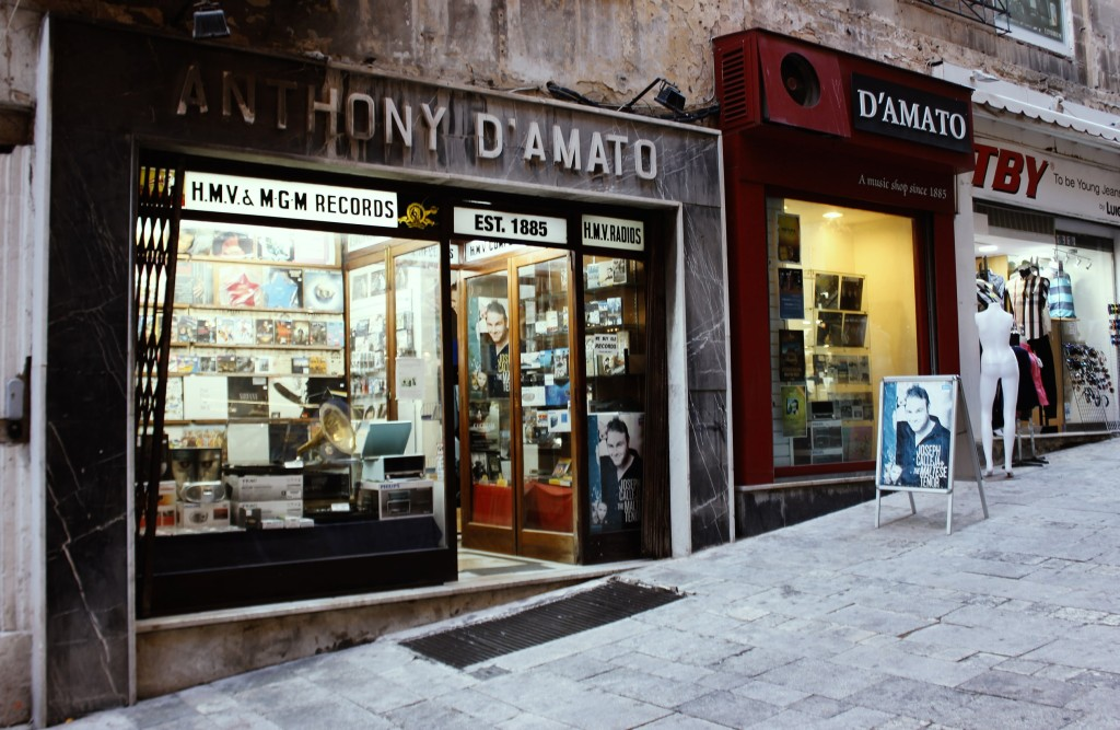 D'Amato Records Oldest Record Store in the world Malta