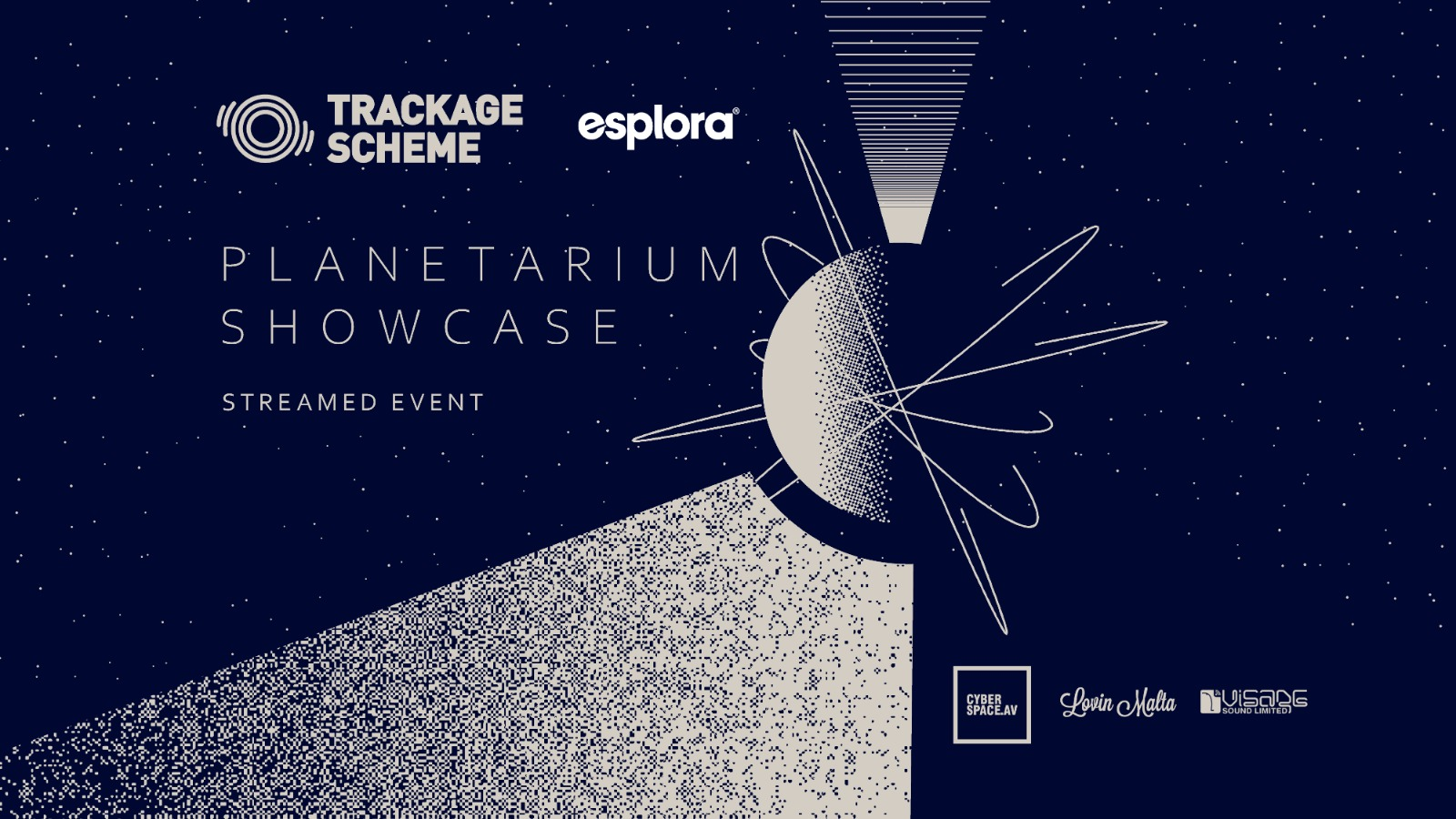 Trackage Scheme x Esplora pres. 'Planetarium Showcase'